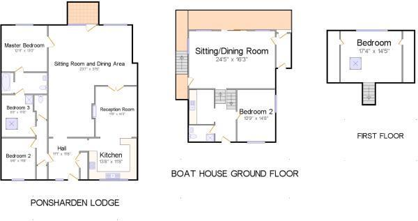 Floorplan with measu