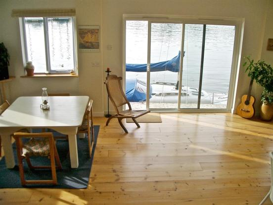 Boathouse living wit