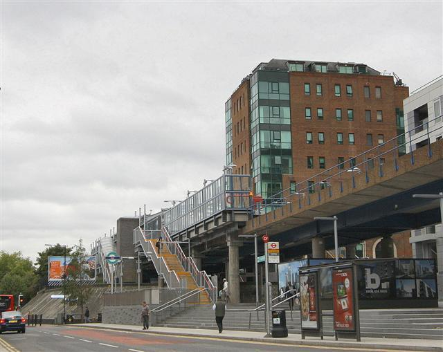 Crossharbour DLR & Bus station