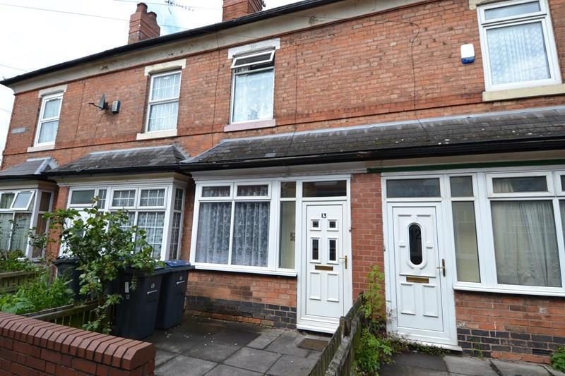 2 Bedroom Terraced House For Sale In Clifton Road Balsall Heath Birmingham B12