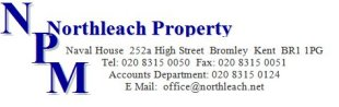 Northleach Property Management Ltd, Bromleybranch details