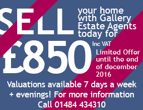 Get brand editions for Gallery Estate Agents, West Yorkshire