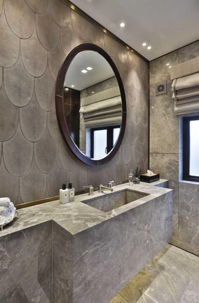 Oro Bianco,Bathroom detail