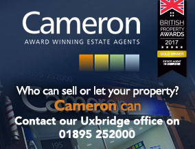 Get brand editions for Cameron Estate Agents, Uxbridge