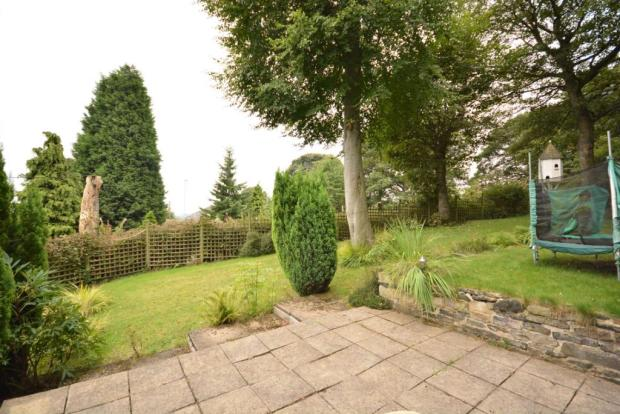 Paved / Garden Area