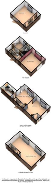 3D Floorplan - 71 Hi
