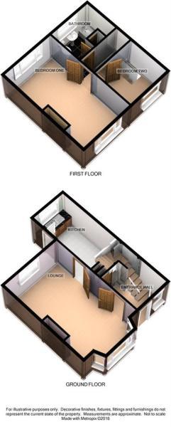3D Floorplan - 220 H