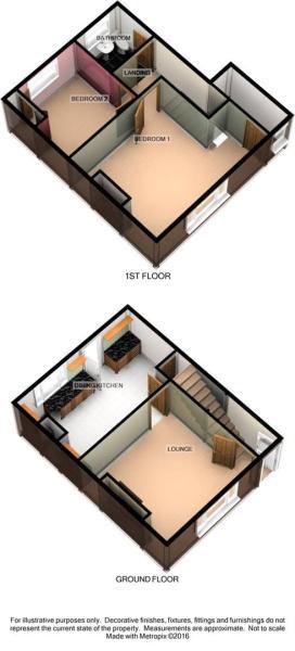 3D Floorplan - 134 C
