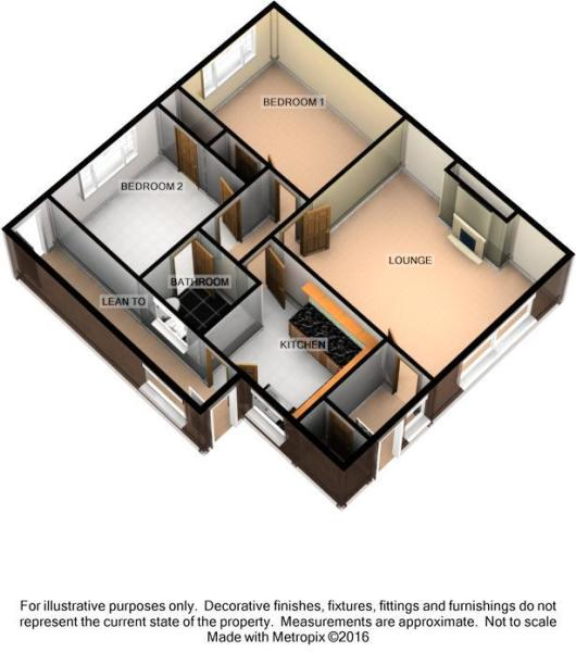 3D Floorplan - 4 Ogd