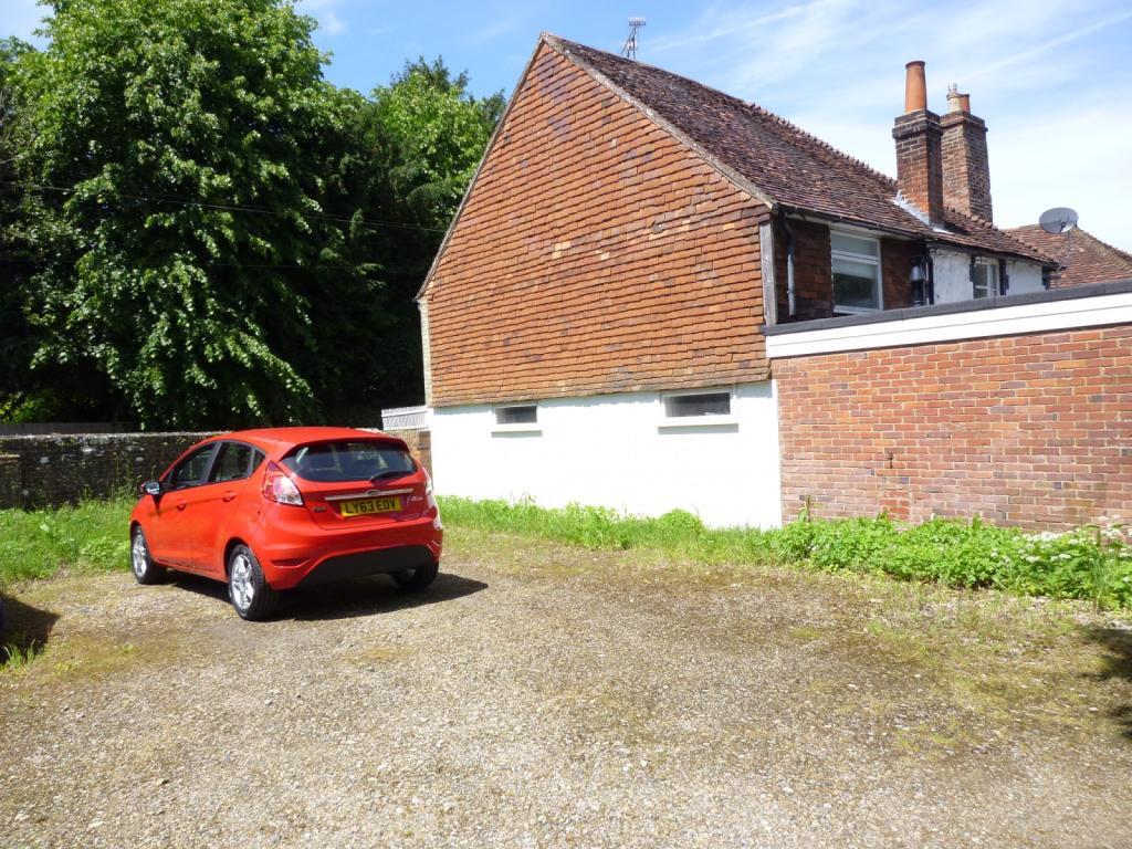 Large rear car parki