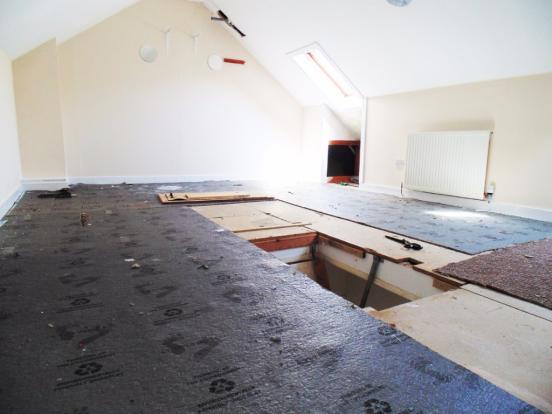 large floored loft