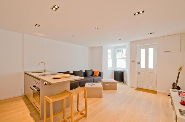 Stunning reception room/kitchen