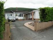 Detached Bungalow in Station Road, Govilon...