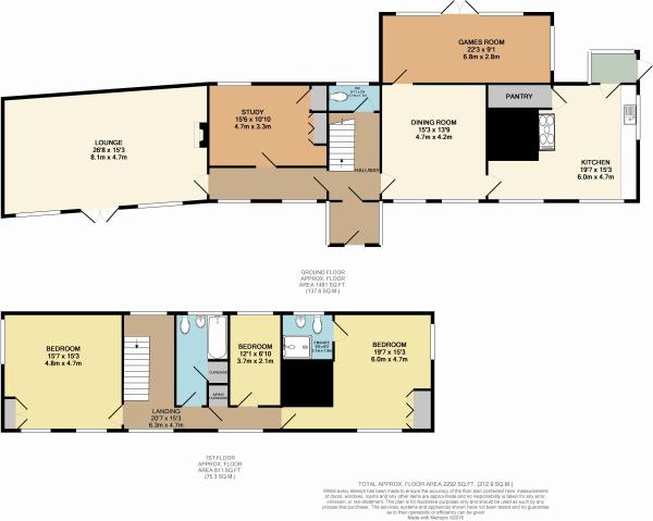 Floor plan of hou...