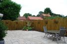 Side garden/patio