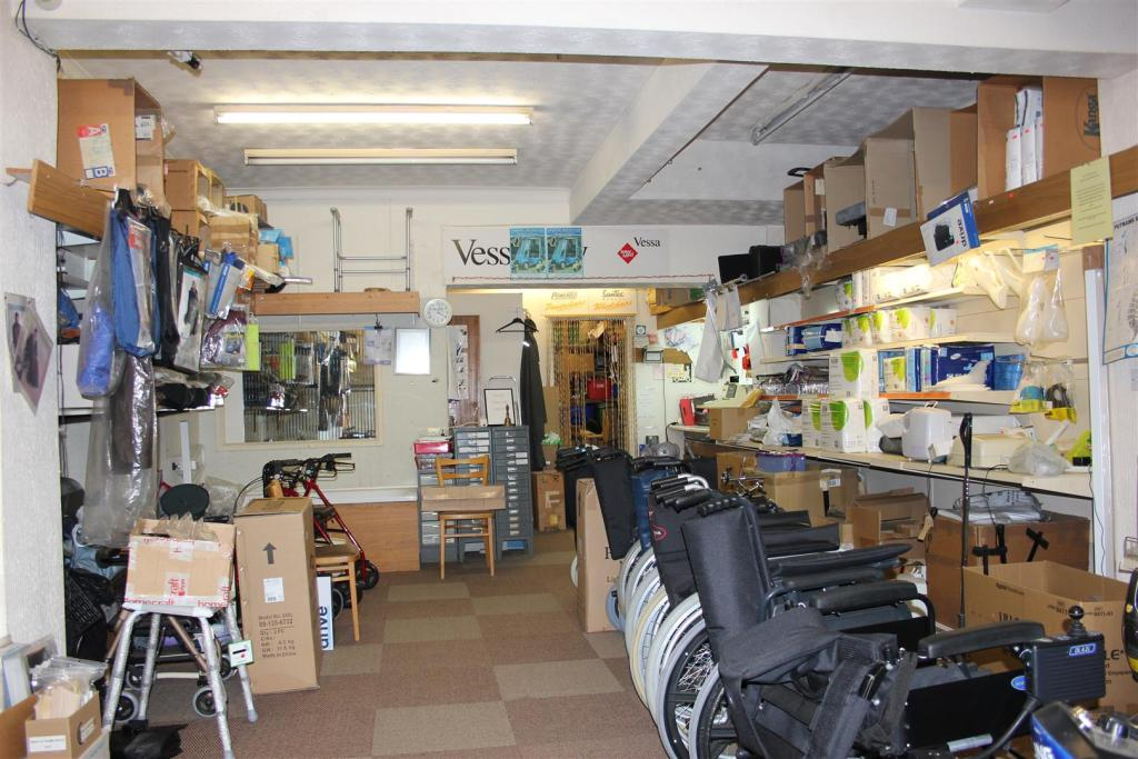 Lower Shop Area