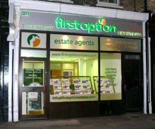 First Option Estate Agents, Crystal Palacebranch details