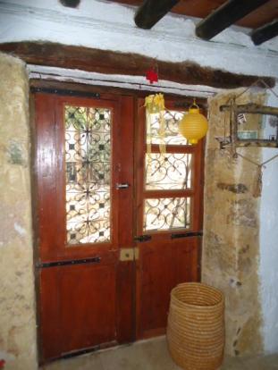 Cottage 2 front door
