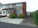 3 bed semi detached home in Hillside Crescent, Mold...