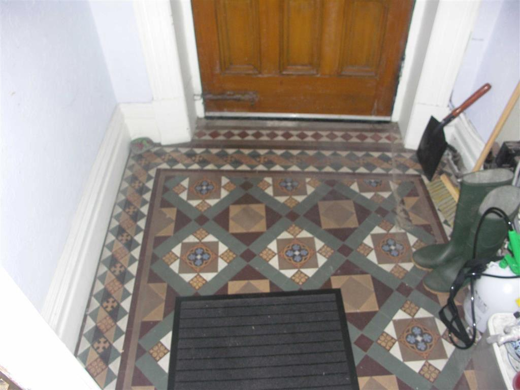 Original tiled floor