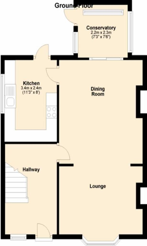 FLOORPLAN GROUND FLO