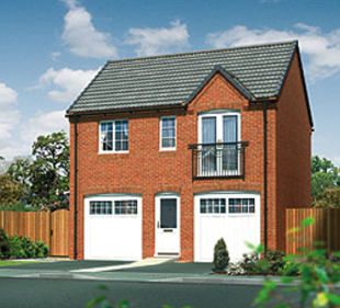Dukes Mead by Miller Homes Midlands, Mill Hill Road, Bingham, Nottinghamshire