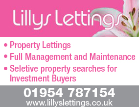 Get brand editions for Lillys lettings, Great Cambourne
