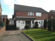 semi detached house for sale in Tamworth Road, Two Gates...