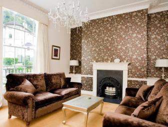 feature wall living room design ideas photos