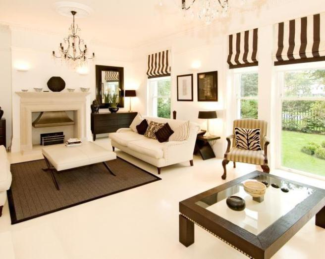 cream and brown living room ideas modern house