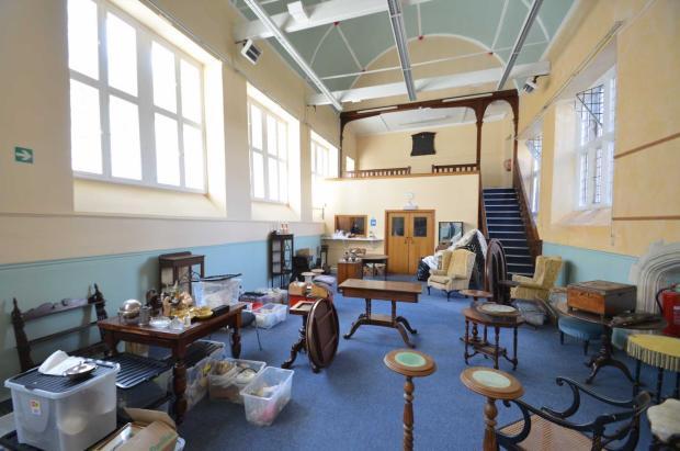 Interior Chilcot School