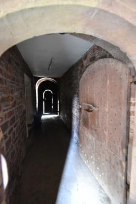 Passage door