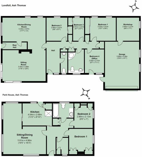 4 Bedroom Detached Bungalow For Sale In Ash Thomas Nr