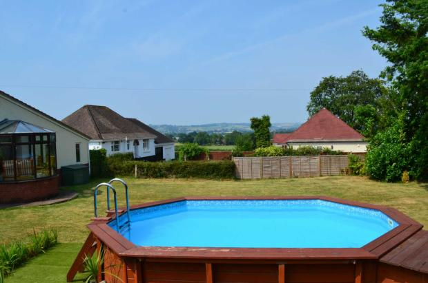 Garden, Pool and View