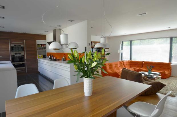 Kitchen dining sitting room