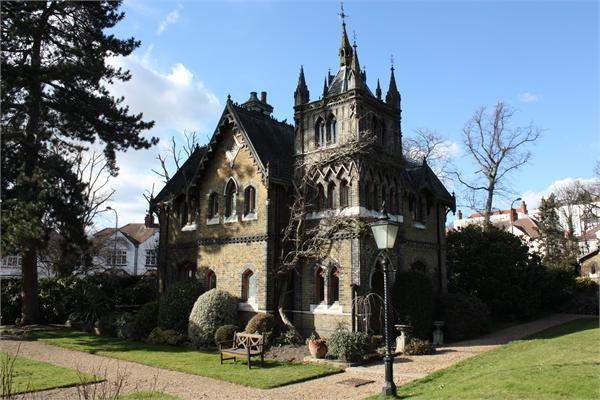 3 bedroom house for sale in holly village highgate london for Gothic revival homes for sale