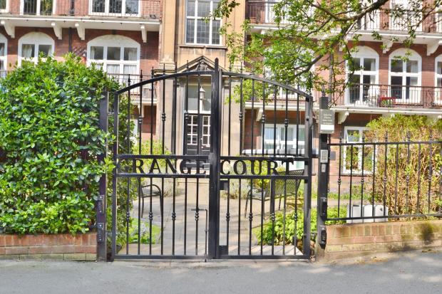 Communal Garden Entrance