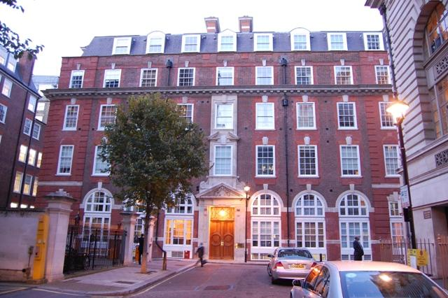 Central Building  Matthew Parker Street London