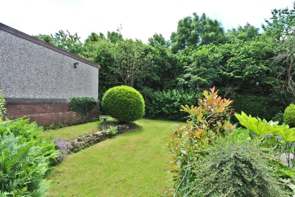 The rear garden face