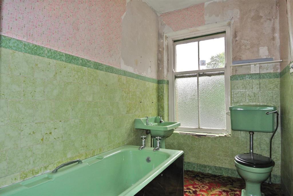 The first floor bath