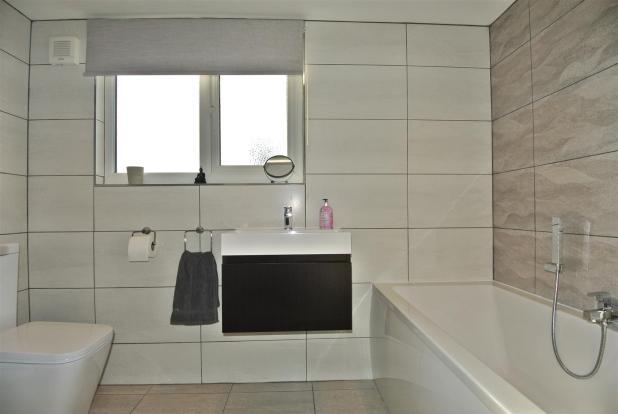 The bathroom is actu