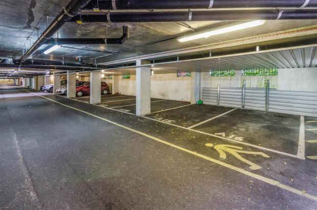 Gated Underground Parking