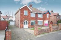 semi detached house for sale in Hoylake Drive, Skegness