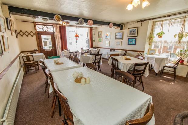 Reception Room / Tea Shop