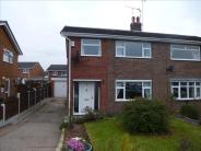 3 bed semi detached property in Conrad Close, Worksop