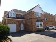 Detached home in Bentley Avenue, Yaxley...