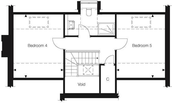 Floor Plans - Second Floor