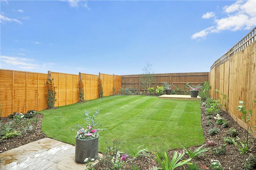 Garden (show home example)