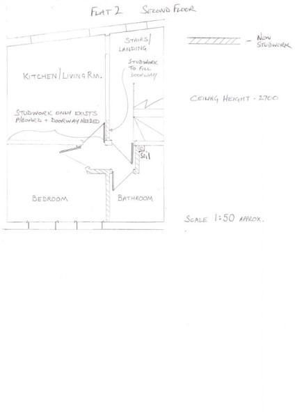 Flat 2 - Floor Plan