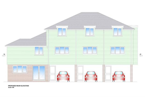 Proposed Rear Elevation